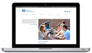 Carolina Conversation's Website Customized with CSS